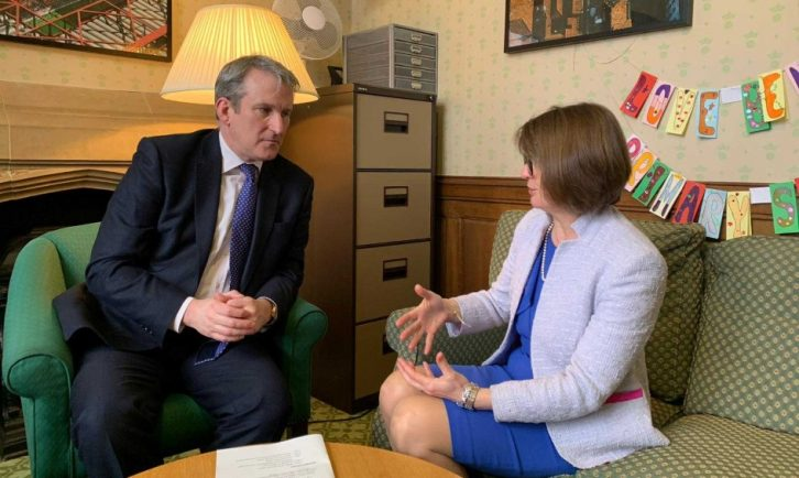 Secretary Of Education Calls For End To >> Must Do Better Rachel Maclean Takes School Funding Crisis To The